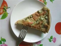 秋葵香肠简做披萨