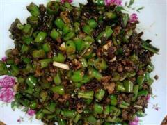 橄榄菜干煸豆角