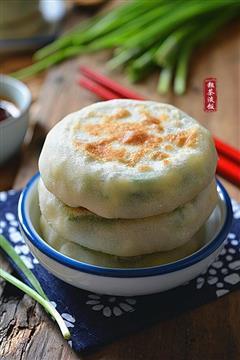 韭菜粉丝鸡蛋饼