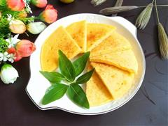 奶香玉米煎饼