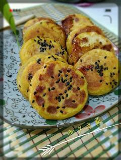 家常版南瓜饼