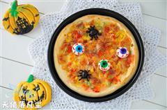万圣节尖叫披萨