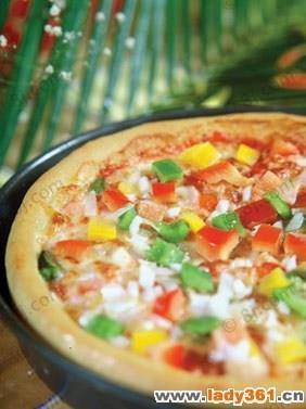 自制低卡披萨