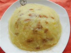 葡萄干蜂蜜土豆泥