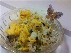 咸菜蛋炒饭