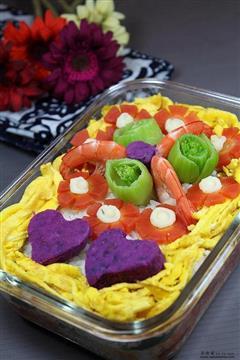 韩版寿司蛋糕