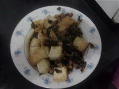 咸菜臭豆腐