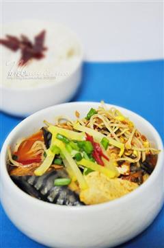 韩式辣白菜鲭鱼汤
