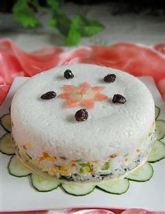 多味寿司蛋糕