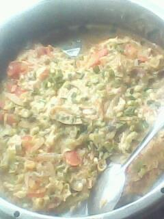 中式蒸素披萨