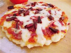 奶酪培根披萨