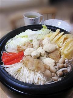 鸡汤什锦锅