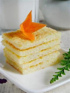 米饭鸡蛋饼