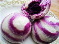 紫薯馒头包