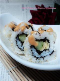 千岛酱芝麻寿司