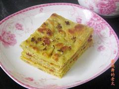 桂花鸡蛋饼
