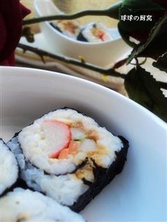 蟹肉棒沙拉酱寿司
