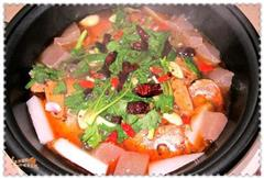 咸菜烤鱼锅