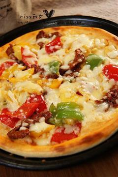 激情什锦披萨
