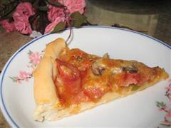 奥尔良烤火腿披萨