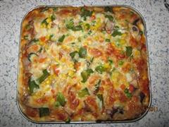 海路鲜汇方型披萨