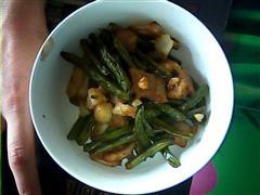 干煸豆角炒土豆