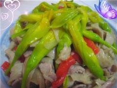 黄花菜炒面筋