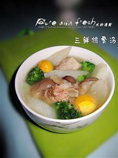 三鲜排骨汤