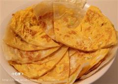葱油鸡蛋饼