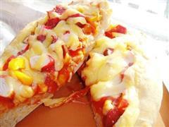 简易爱心披萨