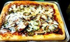 香菇培根披萨