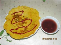 马铃薯鸡蛋煎饼