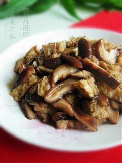 香菇炒面筋