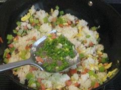 香菇西芹蛋炒饭