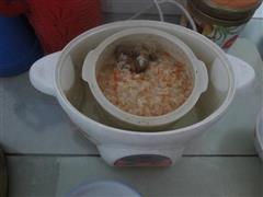 胡萝卜鸽子汤粥