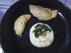 玉米菜煎饼