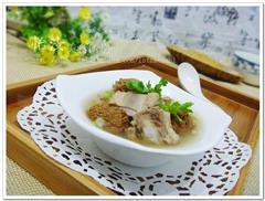 参芪猴头菇排骨汤