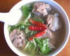 清炖排骨汤