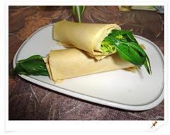 香椿卷煎饼