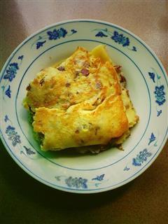 红枣鸡蛋煎饼