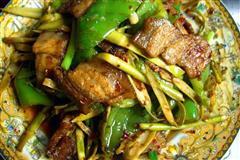小竹笋回锅肉