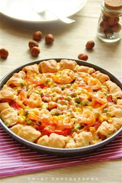 缤纷卷边披萨