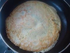 早餐韭菜鸡蛋煎饼