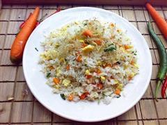 银鱼干蛋炒饭