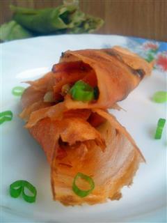 健康蔬菜煎饼