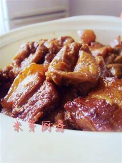 油豆条红烧肉