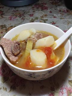 番茄山药排骨汤
