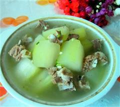 清淡冬瓜排骨汤