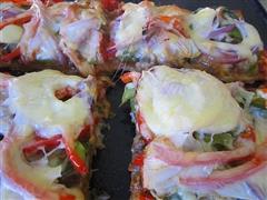 孜然羊肉披萨