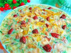 莲子红枣披萨